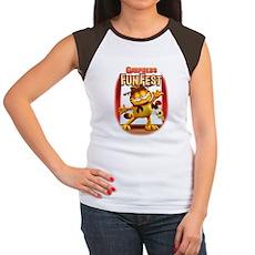 Garfield's Fun Fest Women's Cap Sleeve T-Shirt