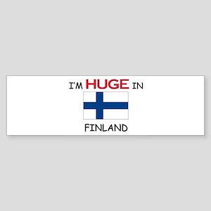 I'd HUGE In FINLAND Bumper Sticker