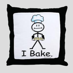 BusyBodies Baking Throw Pillow