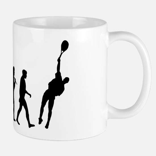 Evolution of Tennis Mug