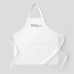 Jane Austen Married Darcy BBQ Apron