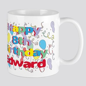 Edward's 8th Birthday Mug