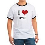 I Love Kyle Ringer T