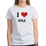 I Love Kyle Women's T-Shirt