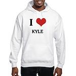 I Love Kyle Hooded Sweatshirt