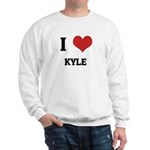 I Love Kyle Sweatshirt