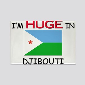 I'd HUGE In DJIBOUTI Rectangle Magnet