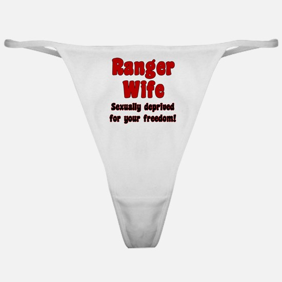 Ranger Wife - deprived Classic Thong