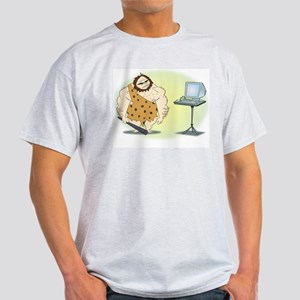 Caveman  Ash Grey T-Shirt
