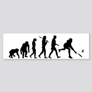 Badminton Players Bumper Sticker