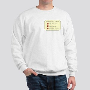 Geocacher's Creed Sweatshirt