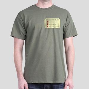 Geocacher's Creed Dark T-Shirt