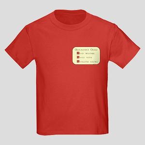 Geocacher's Creed Kids Dark T-Shirt