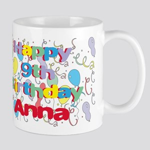 Anna's 9th Birthday Mug