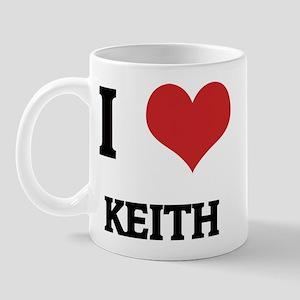 I Love Keith Mug