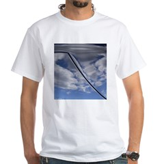 Blue Skies White T-Shirt