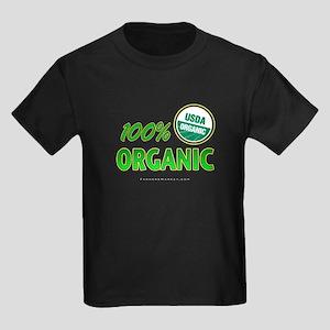 100% ORGANIC Kids Dark T-Shirt