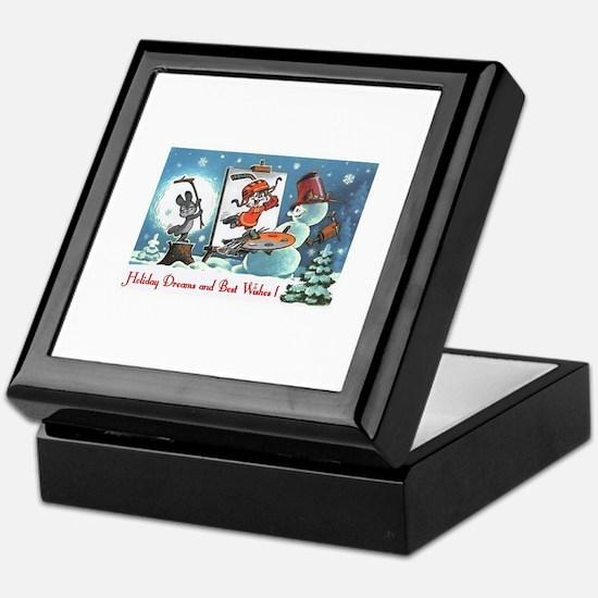 holiday wishes Keepsake Box