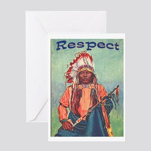 RESPECT Greeting Card
