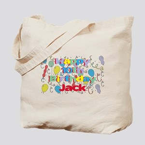 Jack's 10th Birthday Tote Bag
