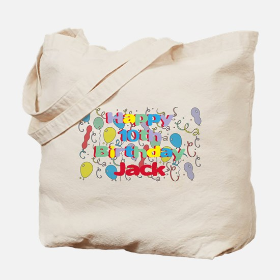 Jack's 10th Birthday Tote Bag