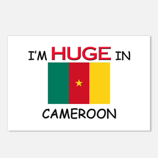 I'd HUGE In CAMEROON Postcards (Package of 8)