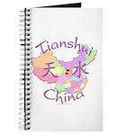 Tianshui China Map Journal