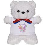 Tianshui China Map Teddy Bear