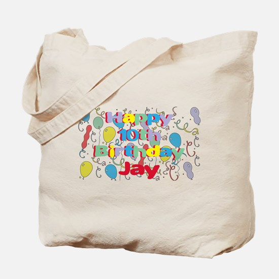 Jay's 10th Birthday Tote Bag