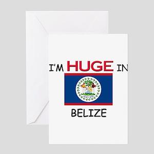 I'd HUGE In BELIZE Greeting Card