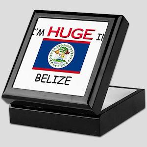 I'd HUGE In BELIZE Keepsake Box