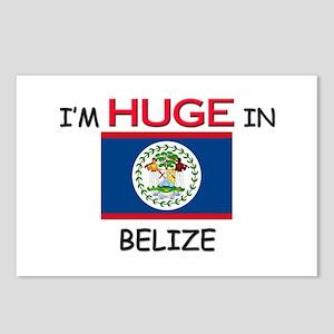 I'd HUGE In BELIZE Postcards (Package of 8)