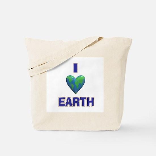 I Heart Earth Tote Bag