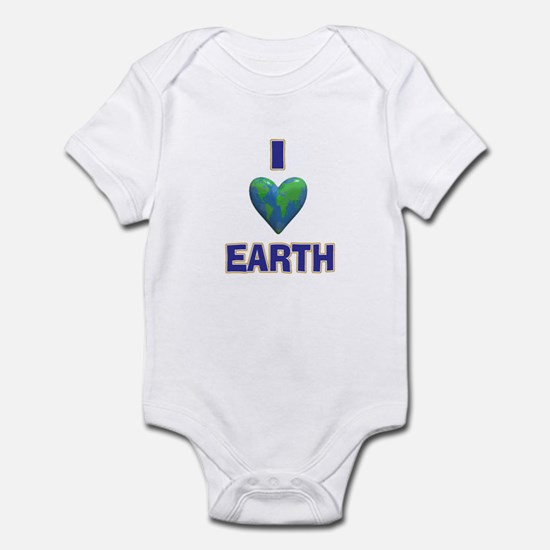I Heart Earth Infant Bodysuit