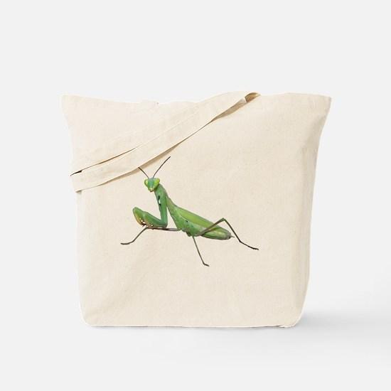 Praying Mantis Tote Bag