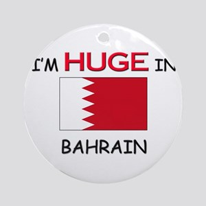 I'd HUGE In BAHRAIN Ornament (Round)