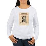 b Saunders Wante Women's Long Sleeve T-Shirt