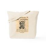 b Saunders Wante Tote Bag