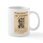 b Saunders Wante Mug