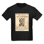 b Saunders Wante Kids Dark T-Shirt