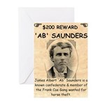 b Saunders Wante Greeting Cards (Pk of 10)
