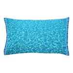 Backyard Pool Pillow Case