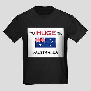 I'd HUGE In AUSTRALIA Kids Dark T-Shirt