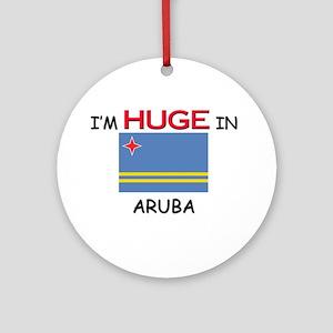 I'd HUGE In ARUBA Ornament (Round)