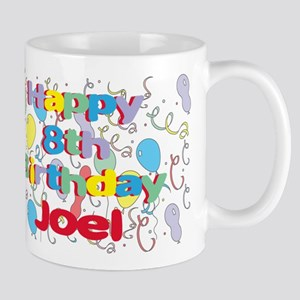Joel's 8th Birthday Mug