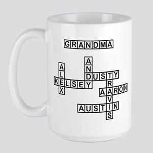 SNIDER GRANDMA Crossword/Scrabble Large Mug