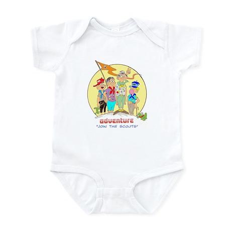 ADVENTURE-BOY SCOUTS II Infant Bodysuit