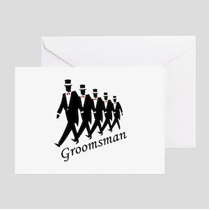Groomsman Greeting Card