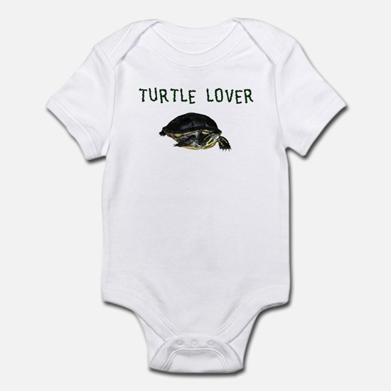 Turtle Lover Infant Bodysuit