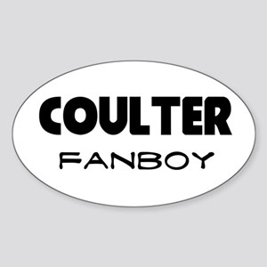 Ann Coulter Oval Sticker